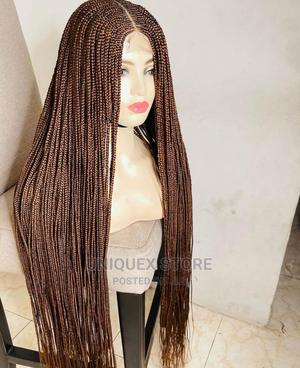 Brown Closure Braid Wig   Hair Beauty for sale in Anambra State, Awka