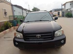 Toyota Highlander 2007 V6 4x4 Black   Cars for sale in Lagos State, Isolo