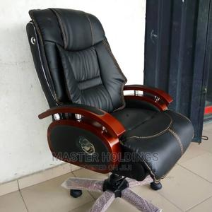 Executive Italian Leather Office Recline Chair   Furniture for sale in Lagos State, Victoria Island