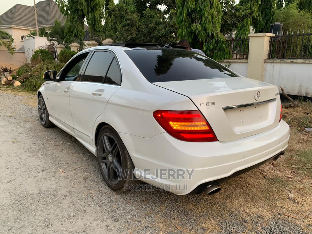 Mercedes-Benz C63 2012 White | Cars for sale in Lekki, Lagos State, Nigeria