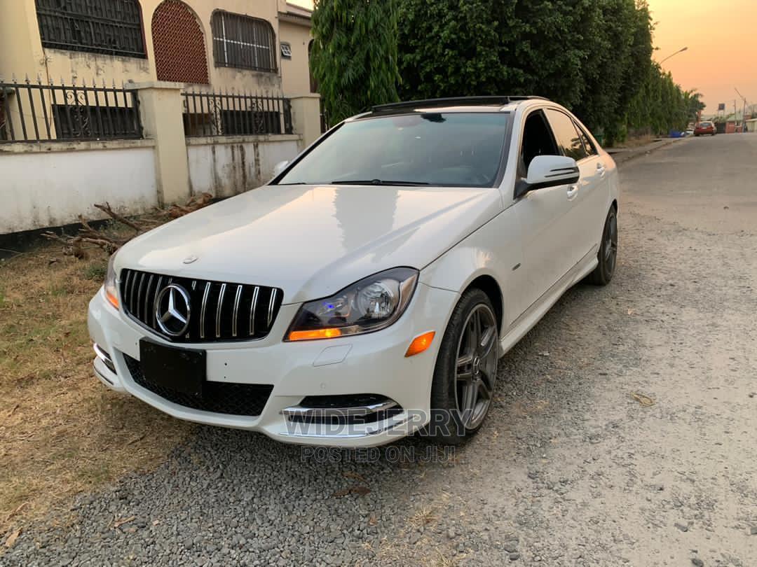 Mercedes-Benz C63 2012 White