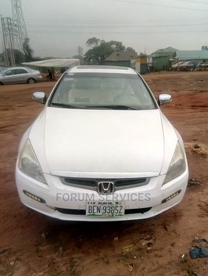 Honda Accord 2005 Sedan LX V6 Automatic White | Cars for sale in Edo State, Benin City