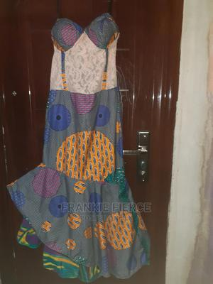 Ankara Corset Tail Dress   Clothing for sale in Rivers State, Port-Harcourt