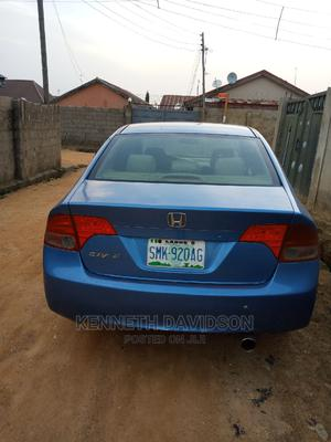 Honda Civic 2007 1.8i-Vtec EXi Automatic Blue | Cars for sale in Abuja (FCT) State, Asokoro