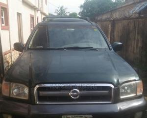 Nissan Pathfinder 2002 LE AWD SUV (3.5L 6cyl 4A) Green | Cars for sale in Lagos State, Ikorodu