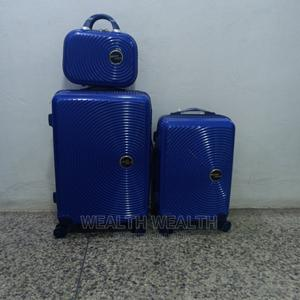 All Round Wheel Swiss Polo Trolley Suitcase Blue Bag | Bags for sale in Lagos State, Ikeja