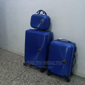 Swiss Polo All Round Wheel Suitcase Trolley Blue Bag | Bags for sale in Lagos State, Ikeja
