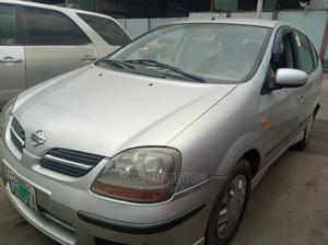 Nissan Almera 2002 Tino Silver | Cars for sale in Lagos State, Ogba