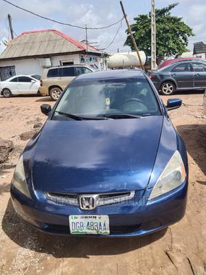 Honda Accord 2005 Sedan LX Automatic Blue | Cars for sale in Lagos State, Abule Egba