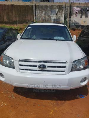 Toyota Highlander 2006 V6 White | Cars for sale in Lagos State, Oshodi