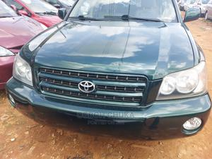 Toyota Highlander 2002 Limited V6 AWD Green | Cars for sale in Lagos State, Oshodi
