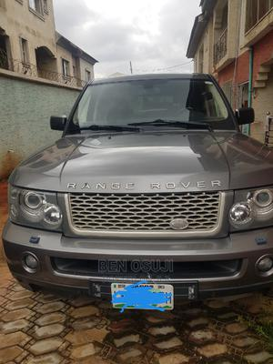 Land Rover Range Rover Sport 2008 4.2 V8 SC Gray | Cars for sale in Lagos State, Apapa