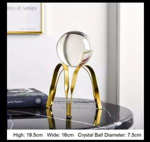 Golden Luxury Metal Crystal Ball | Home Accessories for sale in Lagos State, Lagos Island (Eko)
