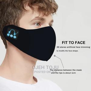Cotton Nose Mask With Built-in Bluetooth Headset   Clothing Accessories for sale in Lagos State, Victoria Island
