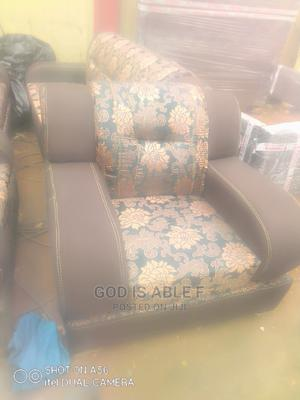 Quality Complete Set Sofa Chair With Buttons | Furniture for sale in Lagos State, Ikeja