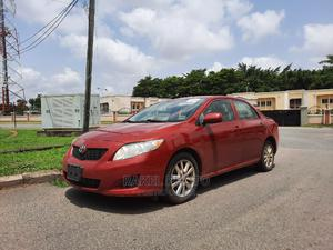 Toyota Corolla 2009 Red | Cars for sale in Abuja (FCT) State, Asokoro