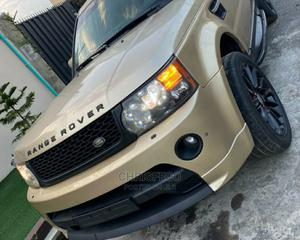 Land Rover Range Rover Sport 2011 Gold | Cars for sale in Lagos State, Ikeja