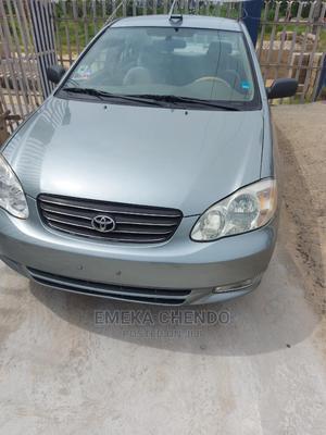 Toyota Corolla 2004 Sedan Gray | Cars for sale in Bayelsa State, Yenagoa