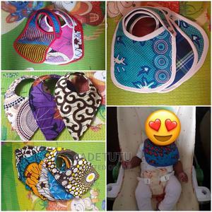 Ankara Baby Bibs   Baby & Child Care for sale in Lagos State, Ifako-Ijaiye