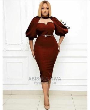 Corporate Gown With Belt | Clothing for sale in Abuja (FCT) State, Garki 1