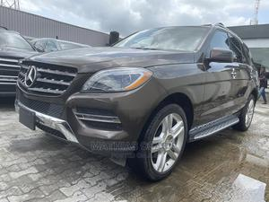 Mercedes-Benz M Class 2015 Brown | Cars for sale in Lagos State, Ajah