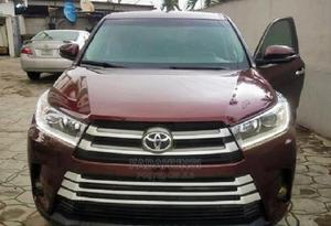 Toyota Highlander 2017 Red | Cars for sale in Lagos State, Magodo