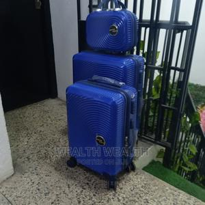 Swiss Polo Portable 3 Set Suitcase Blue Bag | Bags for sale in Lagos State, Ikeja