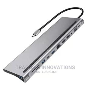 USB Type C Hub 12 in 1   Accessories & Supplies for Electronics for sale in Lagos State, Yaba