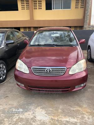 Toyota Corolla 2003 Liftback Red | Cars for sale in Ogun State, Ijebu Ode
