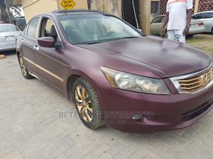 Honda Accord 2009 EX V6 Automatic Gold   Cars for sale in Lagos State, Ogudu