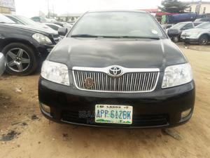 Toyota Corolla 2007 1.4 VVT-i Black | Cars for sale in Rivers State, Port-Harcourt