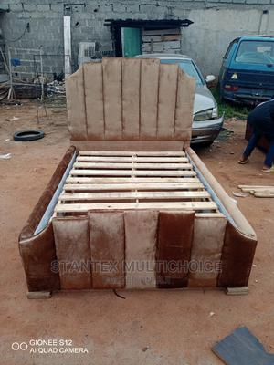 Royal Upholstery Bedframe 41⁄2by6 | Furniture for sale in Lagos State, Lekki