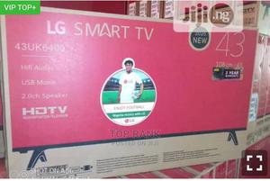 LG 43 Inches Smart Led 4k Television | TV & DVD Equipment for sale in Lagos State, Ojo