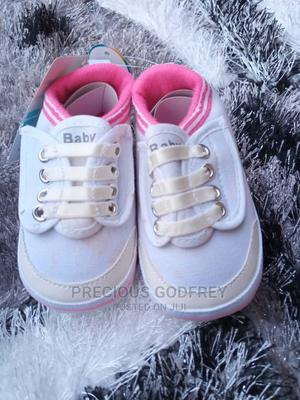 White Canvas   Children's Shoes for sale in Rivers State, Port-Harcourt