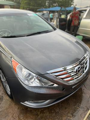 Hyundai Sonata 2012 Gray | Cars for sale in Lagos State, Ikeja