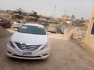 Hyundai Sonata 2012 White | Cars for sale in Oyo State, Oluyole