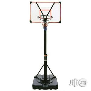 Standard Size Weather Resistant Basketball Post   Sports Equipment for sale in Rivers State, Port-Harcourt
