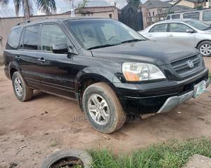 Honda Pilot 2005 EX 4x4 (3.5L 6cyl 5A) Black | Cars for sale in Lagos State, Egbe Idimu