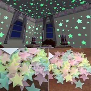 50pcs 3D Stars Glow in the Dark Wall Stickers | Home Accessories for sale in Lagos State, Lagos Island (Eko)