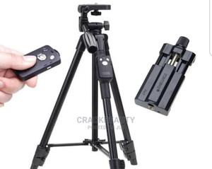 Tripod Stand With Bluetooth Shutter/Remote and Phone Holder   Accessories & Supplies for Electronics for sale in Lagos State, Amuwo-Odofin