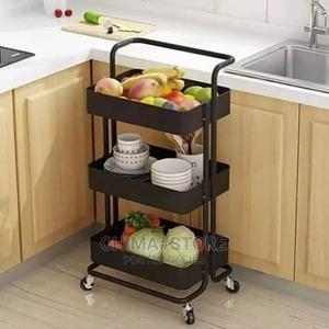 Kitchen Storage Shelf/Cabinet /Trolley- Black | Kitchen Appliances for sale in Lagos State, Ikeja