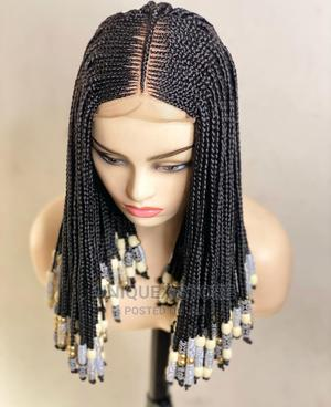 Royal Ghana Weave Styled Braid Wig   Hair Beauty for sale in Anambra State, Awka