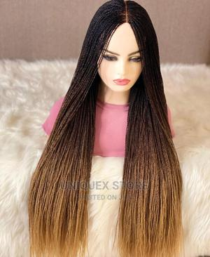 Mixed Black Gold Braid Wig   Hair Beauty for sale in Anambra State, Awka