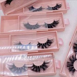 Mink Lashes and Human Hair Lashes | Makeup for sale in Lagos State, Lekki