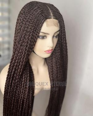 Fulani Styled 6*6 Closure Loose Braid Wig   Hair Beauty for sale in Anambra State, Awka