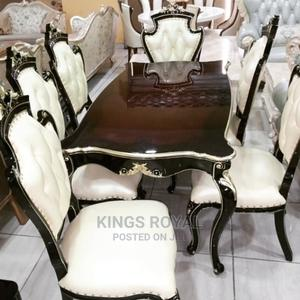 Imported Royal Dining Table With Six Chairs | Furniture for sale in Abuja (FCT) State, Maitama