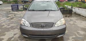Toyota Corolla 2004 Sedan Automatic Gray | Cars for sale in Lagos State, Yaba