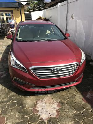 Hyundai Sonata 2015 Red | Cars for sale in Lagos State, Alimosho