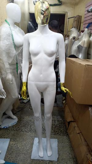 White and Gold Female Faceless Mannequin | Store Equipment for sale in Lagos State, Lagos Island (Eko)