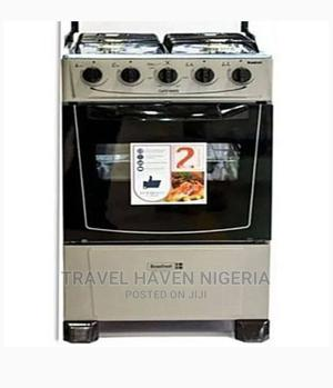 Scanfrost 4 Burners Standing Gas Oven + Cooker + Oven Tray   Kitchen Appliances for sale in Abuja (FCT) State, Utako